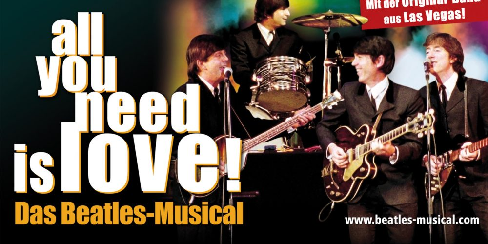 All you need is love! The Beatles musical